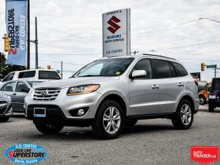Used 2011 Hyundai Santa Fe GL Premium AWD ~Heated Seats ~Power Moonroof for sale in Barrie, ON