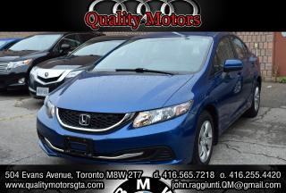 Used 2014 Honda Civic LX for sale in Etobicoke, ON