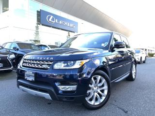 Used 2016 Land Rover Range Rover Sport Diesel Td6 HSE Diesel TD6 Sport, Local, NO Acciden for sale in North Vancouver, BC