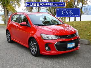 Used 2018 Chevrolet Sonic Turbo/ Bluetooth/ Backup Camera for sale in Penticton, BC