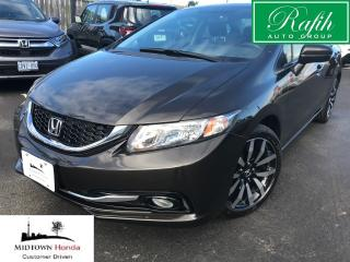 Used 2014 Honda Civic Touring-NEW tires-Super clean for sale in North York, ON