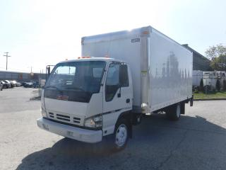 Used 2006 GMC W55042 Cube Van 18 Foot 3 Passenger Diesel with Power Tailgate for sale in Burnaby, BC