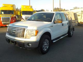 Used 2012 Ford F-150 XL SuperCrew Flatdeck 4WD for sale in Burnaby, BC