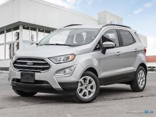 New 2018 Ford EcoSport SE FWD for sale in Winnipeg, MB