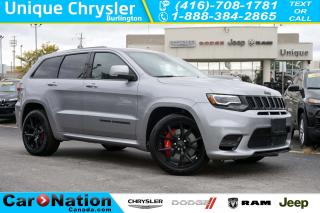 Used 2018 Jeep Grand Cherokee SRT| PANORAMIC SUNROOF| RED SEATBELTS| NAV & MORE for sale in Burlington, ON