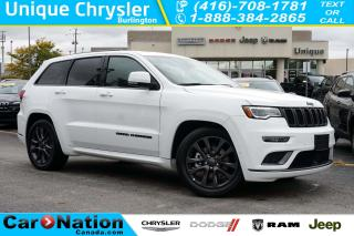 Used 2018 Jeep Grand Cherokee OVERLAND| HIGH ALTITUDE| ECODIESEL| 4X4| LOADED! for sale in Burlington, ON