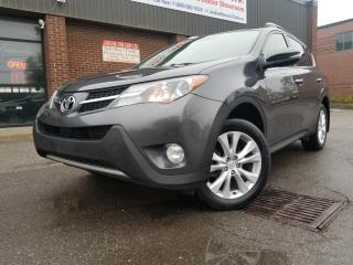 Used 2015 Toyota RAV4 LIMITED NAVIGATION BACK UP CAMERA AWD!!! for sale in North York, ON