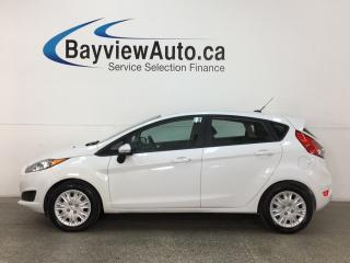 Used 2014 Ford Fiesta - AUTO! HTD SEATS! A/C! SYNC! HTD MIRRORS! for sale in Belleville, ON
