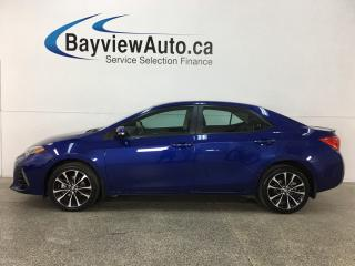 Used 2018 Toyota Corolla - ALLOYS! SUNROOF! BSW! HTD STEERING WHEEL! CRUISE! for sale in Belleville, ON