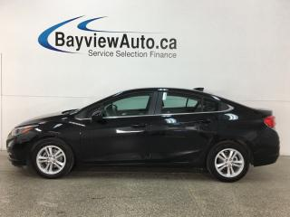 Used 2017 Chevrolet Cruze LT Auto - ALLOYS! HTD SEATS! REVERSE CAM! BLUETOOTH! CRUISE! for sale in Belleville, ON