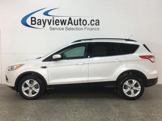 Used 2015 Ford Escape SE -  ECOBOOST! KEYPAD! PANOROOF! NAV! HTD LTHR! SYNC! for sale in Belleville, ON