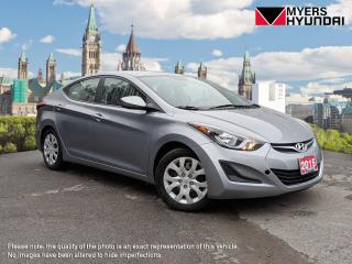 Used 2015 Hyundai Elantra SE 6AT for sale in Bells Corners, ON