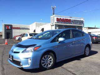 Used 2015 Toyota Prius PLUG-IN - NAVI - LEATHER - REVERSE CAM for sale in Oakville, ON