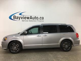 Used 2018 Dodge Grand Caravan GT - REM START! HTD LTHR! DVD! NAV! HTD STEERING WHEEL! PWR SLIDERS! for sale in Belleville, ON