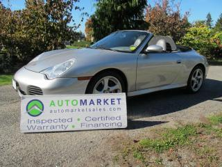 Used 2004 Porsche 911 Carrera 4S Cabriolet, INSP, WARRANTY for sale in Surrey, BC