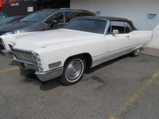 Used 1968 Cadillac DeVille CONVERTABLE for sale in Surrey, BC