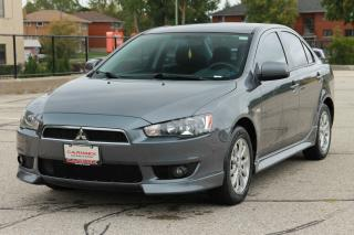 Used 2010 Mitsubishi Lancer SE CERTIFIED for sale in Waterloo, ON