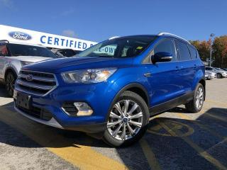Used 2017 Ford Escape Titanium 4WD|NAVIGATION|LEATHER|HEATED SEATS for sale in Barrie, ON