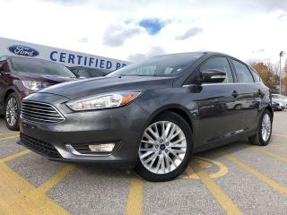 Used 2018 Ford Focus Titanium HATCHBACK|POWER MOONROOF|KEYLESS ENTRY for sale in Barrie, ON