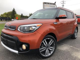 Used 2017 Kia Soul EX Premium Wow! Loaded with Sunroof, Heated Leather, Heated Steering, Pwr Everything and Alloys with BackupCam for sale in Kemptville, ON