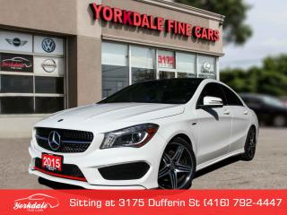 Used 2015 Mercedes-Benz CLA-Class CLA 250 4Matic AMG Pkg, Navigation, Panoramic, No Accident for sale in Toronto, ON