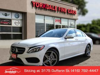Used 2015 Mercedes-Benz C-Class C300 4Matic Navigation, Camera, AMG, Panoramic for sale in Toronto, ON