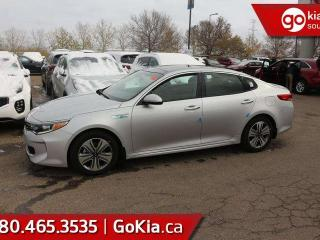New 2019 Kia Optima Hybrid EX: HEATED SEATS/STEERING, BLUETOOTH, WIRELESS PHONE CHARGER, BACKUP CAM AND MORE! for sale in Edmonton, AB