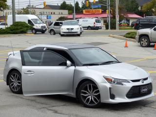 Used 2014 Scion tC BACK CAM, PANORAMIC SUNROOF, ALLOY WHEELS, FOG LIG for sale in Mississauga, ON