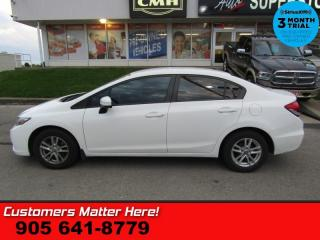 Used 2014 Honda Civic Sedan LX  HS STREAMING-BT TEXT S/W-AUDIO HANDSFREE PWR-GROUP for sale in St. Catharines, ON
