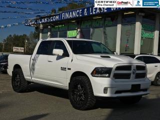 Used 2015 RAM 1500 SPORT CREW CAB 4WD for sale in Surrey, BC