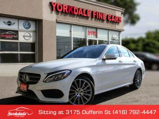 Used 2015 Mercedes-Benz C-Class C400 4Matic. Panoramic. Navigation, No Accidents for sale in Toronto, ON