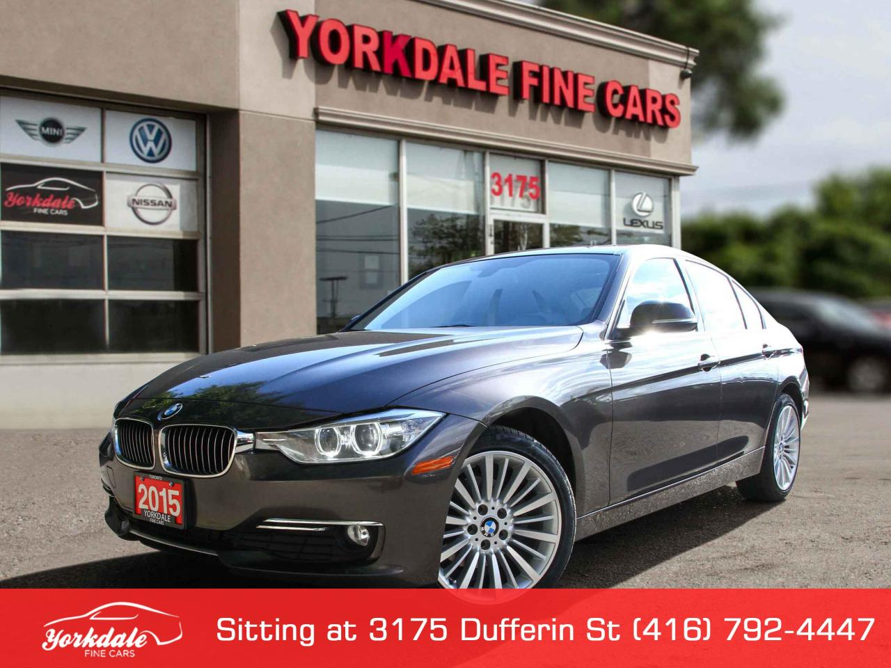 Used 2015 Bmw 320i Xdrive Navigation Leather Roof Clean For Sale