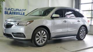 Used 2016 Acura MDX NAVI ** SH-AWD ** ACHAT 72 MOIS 3.9% ** for sale in Blainville, QC