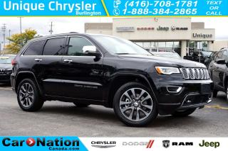 Used 2018 Jeep Grand Cherokee OVERLAND| ECODIESEL| NAV| SAFETY GROUP| LOADED for sale in Burlington, ON