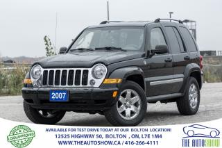 Used 2007 Jeep Liberty Limited Leather Sunroof Jeep Serviced New Tires for sale in Bolton, ON