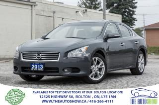 Used 2013 Nissan Maxima 3.5 SV LEATHER SUNROOF CERTIFIED NO ACCIDENTS NICE for sale in Bolton, ON