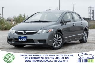 Used 2009 Honda Civic EX-L LEATHER SUNROOF 1 OWNER NO ACCIDENTS LOW KM'S for sale in Bolton, ON