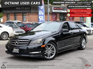 Used 2012 Mercedes-Benz C-Class ACCIDENT FREE! for sale in Scarborough, ON