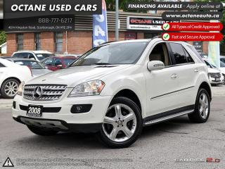 Used 2008 Mercedes-Benz ML-Class Sunroof! Navi! DIESEL! for sale in Scarborough, ON