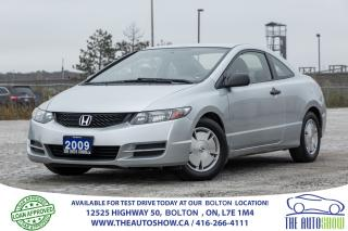 Used 2009 Honda Civic AUTO LOADED DR LOW LOW KM'S CERTIFIED CLEAN DXG for sale in Bolton, ON