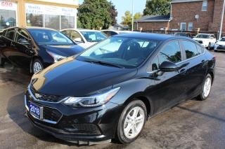 Used 2018 Chevrolet Cruze LT Sunroof Alloy for sale in Brampton, ON