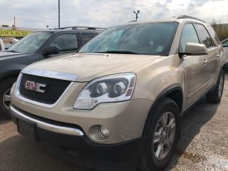 Used 2010 GMC Acadia SLE2 for sale in Pickering, ON