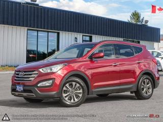Used 2016 Hyundai Santa Fe Premium,ECO,B.TOOTH,HEATED F+R SEATS+S.WHEEL for sale in Barrie, ON