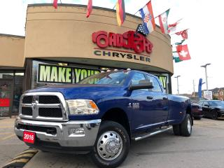 Used 2016 RAM 3500 SLT 4X4 DUALLY 6.7L  AISINTRANS 5TH WHEEL for sale in Toronto, ON