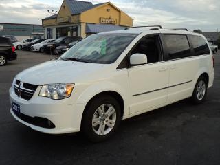 Used 2017 Dodge Grand Caravan Crew Plus 3.6L HeatedSeats BackUpCamera for sale in Brantford, ON