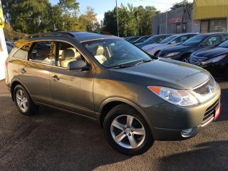 Used 2009 Hyundai Veracruz Limited/ AWD/ 7 SEATER/ LEATHER/ SUNROOF/ ALLOYS! for sale in Scarborough, ON