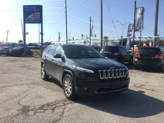 Used 2015 Jeep Cherokee Limited | NAV | 4X4 | LEATHER | PANO ROOF | CAM for sale in London, ON