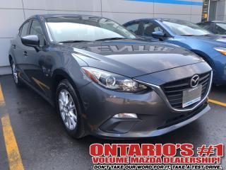 Used 2015 Mazda MAZDA3 GS-NAV,BACK UP CAM/1.99%,C.P.O!!!-TORONTO for sale in Toronto, ON