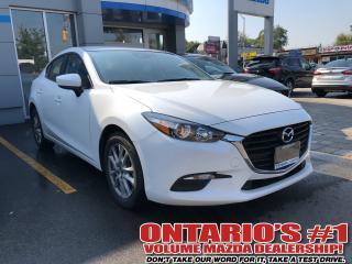 Used 2018 Mazda MAZDA3 GS-BACK UP CAM/ ALLOYS /1.99%,C.P.O!!!-TORONTO for sale in Toronto, ON