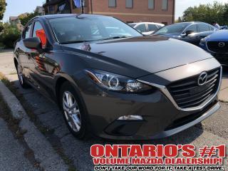 Used 2015 Mazda MAZDA3 GS- HEATED SEATS/6 SPEED/1.99%, C.P.O!!!-TORONTO for sale in Toronto, ON